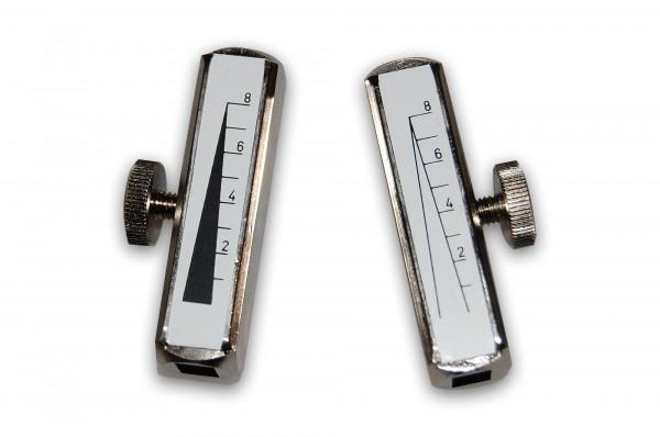 Clamp (damper) set (black and white) for Rydel Seiffer Tuning Fork