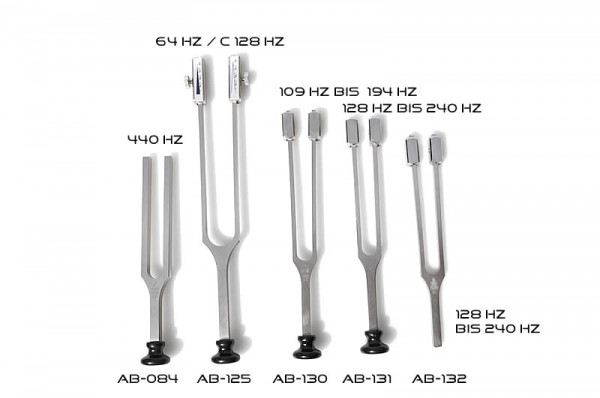 Tuning forks for ear specialists and neurologists